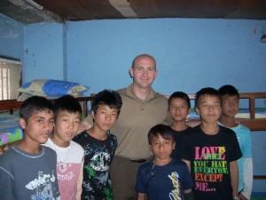 Matt Smith in Nepal